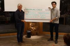 Checkübergabe an Bruno Manser Fonds - 9. Januar 2018