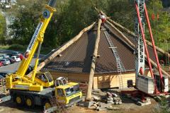 Dach - Oktober/November 2008