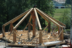 Dachkonstruktion - Juni 2008