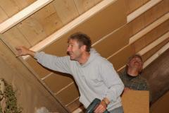 Das Biberburg-Bauteam war wieder aktiv - 24.+28. Oktober 2009