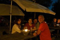Ein Sommerabend in der Biberburg - 6. August 2009