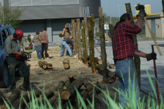 Zaun erstellen - April 2007